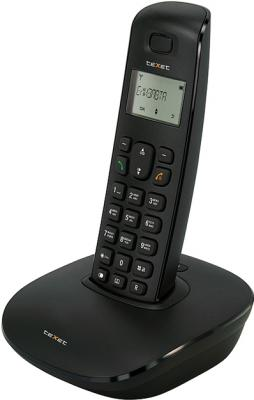 Беспроводной телефон TeXet TX-D6405A Black - общий вид