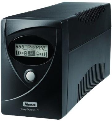ИБП Mustek PowerMust 848 LCD (98-LIC-C0848) - общий вид