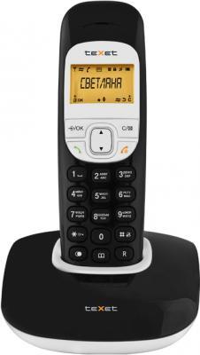 Беспроводной телефон TeXet TX-D6505A Black - вид спереди