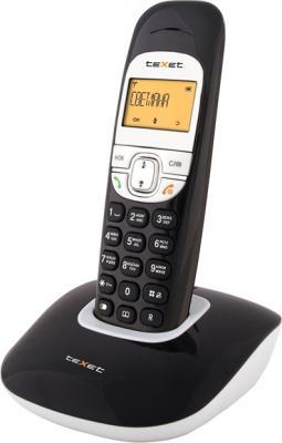 Беспроводной телефон TeXet TX-D6505A Black - вид сбоку