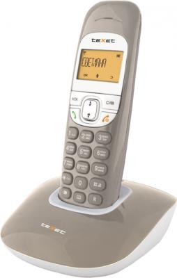 Беспроводной телефон TeXet TX-D6505A Taupe - вид сбоку