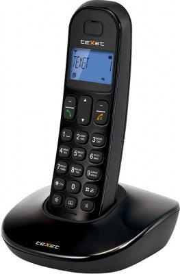 Беспроводной телефон TeXet TX-D6805A Black - вид сбоку