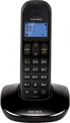 Беспроводной телефон TeXet TX-D6805A Black - вид спереди