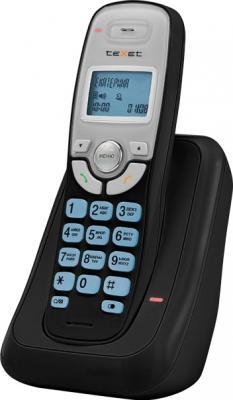 Беспроводной телефон TeXet TX-D6905A Black - вид сбоку