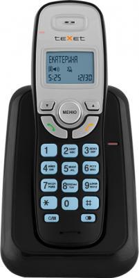 Беспроводной телефон TeXet TX-D6905A Black - вид спереди
