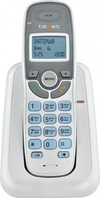Беспроводной телефон TeXet TX-D6905A White - вид спереди