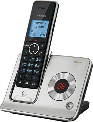 Беспроводной телефон TeXet TX-D7465 Black-Silver - вид сбоку