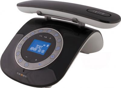Беспроводной телефон TeXet TX-D7955A Black - общий вид