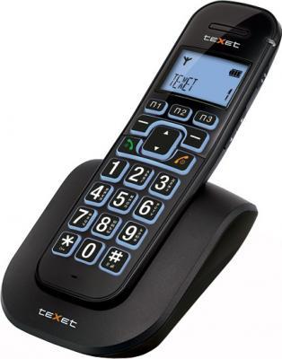 Беспроводной телефон TeXet TX-D8405A Black - общий вид