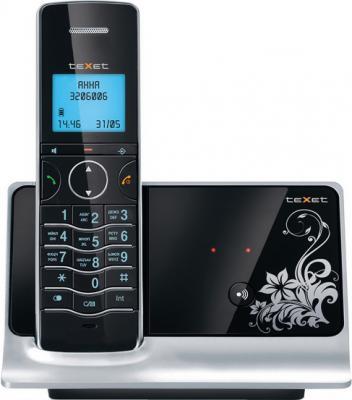 Беспроводной телефон TeXet TX-D8600A Black - вид спереди