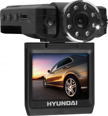 Автомобильный видеорегистратор Hyundai H-DVR10 Black - общий вид