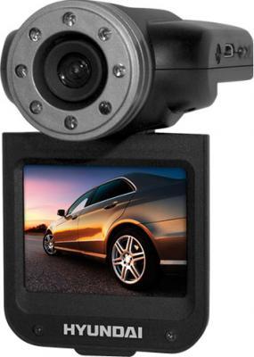 Автомобильный видеорегистратор Hyundai H-DVR14HD (Black) - общий вид