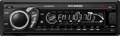 Автомагнитола Hyundai H-CDM8034 Black - общий вид