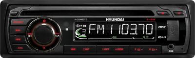 Автомагнитола Hyundai H-CDM8072 Black - общий вид