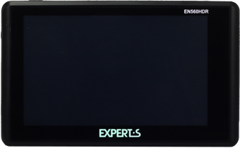 GPS навигатор Experts EN-560HDR - вид спереди
