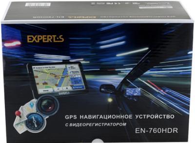 GPS навигатор Experts EN-760HDR - упаковка