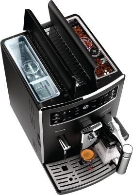Кофемашина Philips Xelsis Evo Full Black (HD8953/09) - вид сверху