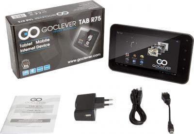 Планшет GoClever TAB R75 4GB - комплектация