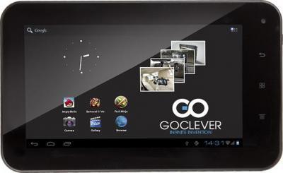 Планшет GoClever TAB R75 4GB - фронтальный вид