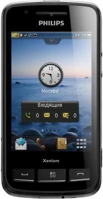 Мобильный телефон Philips Xenium X622 Black - общий вид