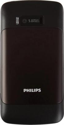 Мобильный телефон Philips Xenium X622 Black - задняя панель