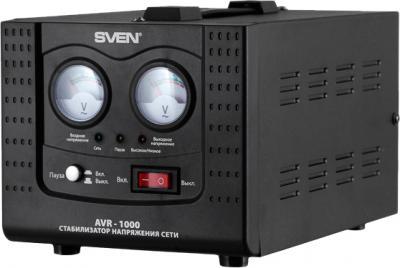 Стабилизатор напряжения Sven AVR-1000 - общий вид