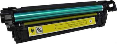 Тонер-картридж HP 504 (CE252A) - общий вид
