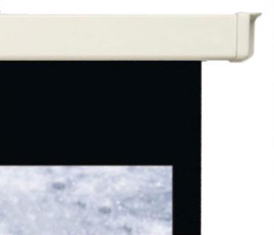Проекционный экран Mechanische Weberei (MW) Rollo Premium 203x203 - черная рамка для форматов 4:3 и 16:9