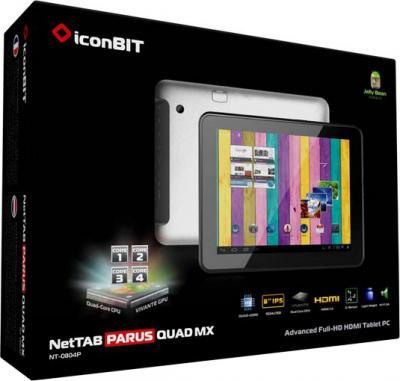 Планшет IconBIT NetTAB Parus Quad MX (NT-0804P) 8GB - коробка
