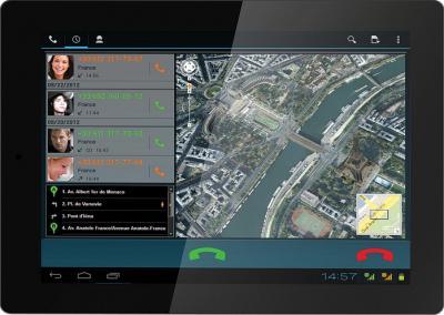 Планшет IconBIT NetTab Space 3G 8GB - фронтальный вид