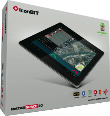 Планшет IconBIT NetTab Space 3G 8GB - коробка