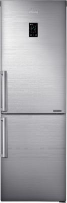 Холодильник с морозильником Samsung RB28FEJNDSS/WT - вид спереди