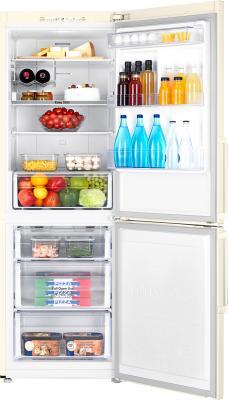 Холодильник с морозильником Samsung RB28FSJNDEF/WT - камеры хранения