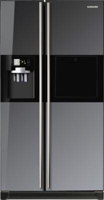 Холодильник с морозильником Samsung RSH5ZLMR1/BWT - вид спереди