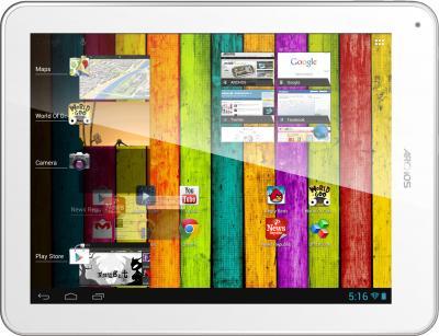 Планшет Archos 97 Titanium HD 8GB - фронтальный вид (горизонтально)