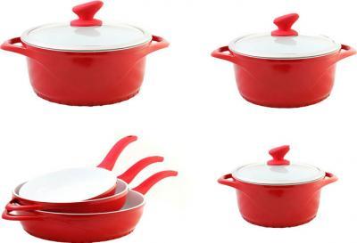 Набор кухонной посуды SSenzo PTXTDC6809AP13 - общий вид
