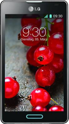 Смартфон LG P713 Optimus L7 II Black - общий вид