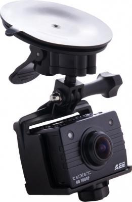 Экшн-камера TeXet DVR-905S (Black) - общий вид с креплением
