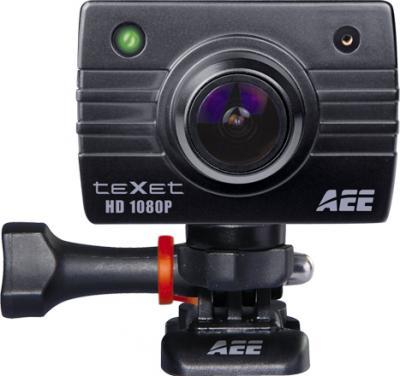 Экшн-камера TeXet DVR-905S (Black) - фронтальный вид