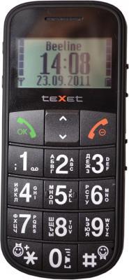 Мобильный телефон TeXet TM-B110 Black - общий вид