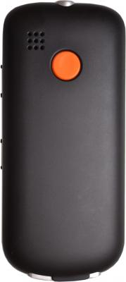 Мобильный телефон TeXet TM-B110 Black - задняя крышка