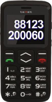 Мобильный телефон TeXet TM-B311 Black - общий вид