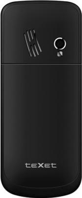 Мобильный телефон TeXet TM-333 Black - задняя крышка