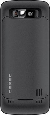 Мобильный телефон TeXet TM-420 Black - задняя крышка