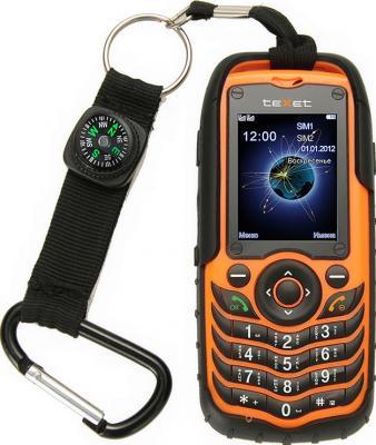 Мобильный телефон TeXet TM-510R Black-Orange - общий вид