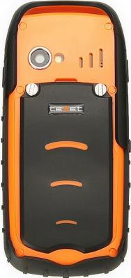 Мобильный телефон TeXet TM-510R Black-Orange - задняя крышка