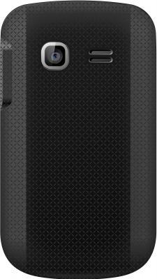 Мобильный телефон TeXet TM-605TV Black - задняя панель