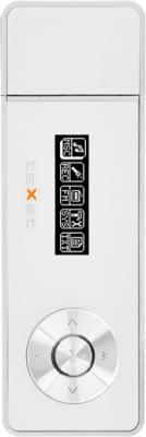 USB-плеер TeXet T-169 (4GB) White - общий вид