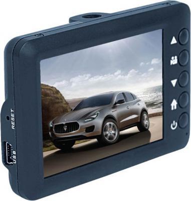Автомобильный видеорегистратор Geofox DVR100 HD - дисплей