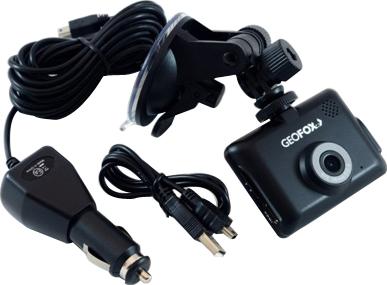 Автомобильный видеорегистратор Geofox DVR100 HD - комплектация